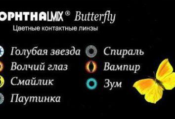Lenti colorate Oftalmiks farfalla: Descrizione e recensioni