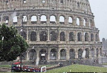 Devo ir a Roma em janeiro? Recursos, clima, temperatura e comentários