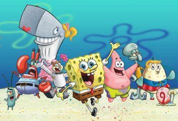 SpongeBob: personaggi dei cartoni animati