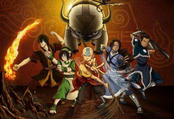"Animowane serie ""Avatar: Legend of Aang"": postaci, charakterystyki i interesujące fakty"