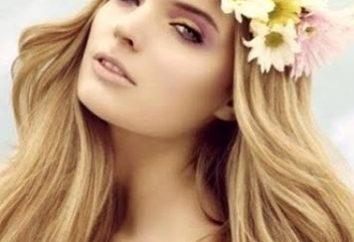 la couleur des cheveux de blé pour les femmes