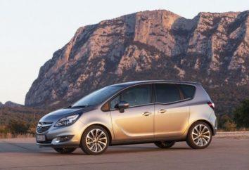 """Novo carro compacto """"Meriva Opel"""""""