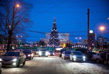 O quadrado principal de Novosibirsk (foto). O quadrado de Novosibirsk