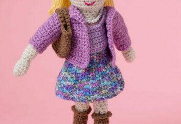 Dzianiny lalka – i zabawki, a wystrój wnętrz