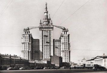 arranha-céus Stalin em Barricadnaya: a história gloriosa de casas high-end da URSS