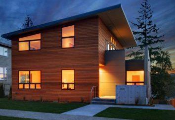 Projekt domu 6 do 8 z poddaszem użytkowym oraz dwukondygnacyjnego