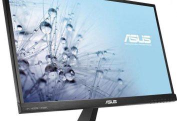 Visão geral do Monitor ASUS VX239H: descrição, características e comentários dos proprietários