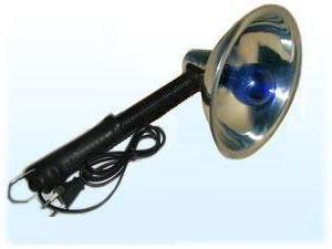Niebieska lampka do ogrzania: recenzje. ocieplenie lampa: cena