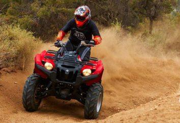 """ATV """"urso"""" (Yamaha, Grizzly): modelos, características e comentários"""