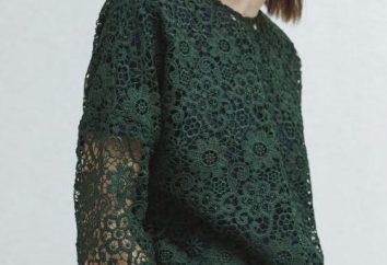 blouse guipure: intéressé et quoi porter