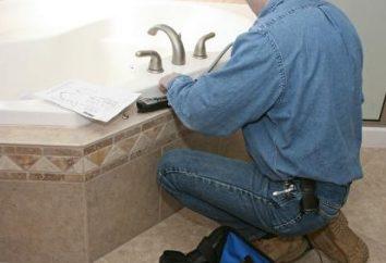 Où commencer les réparations dans la salle de bains et la façon de les faire correctement?