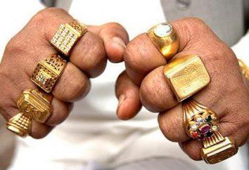 Por lo que el dedo de llevar un anillo de sello – un símbolo de poder y fuerza?
