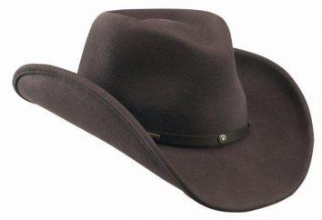 chapéu de cowboy moderno – acessório de moda