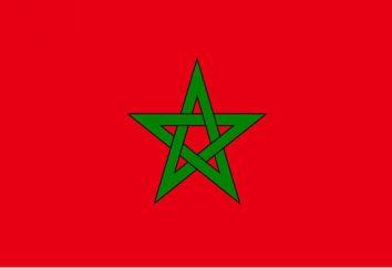 Drapeau Maroc: description et histoire. Armoiries du Maroc