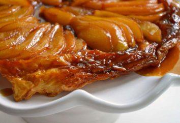 Pie-shifter avec des pommes. Tarte aux pommes: recettes, photos