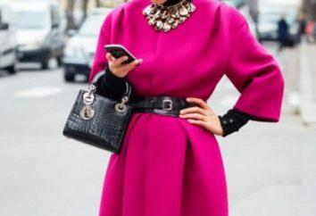 Consejos de moda: la capa rosada qué ponerse?