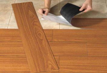 Lo que caracteriza el piso de vinilo, y por qué es tan extendida?