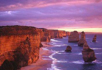 Australia Dodici apostoli: storia di occorrenza, posizione