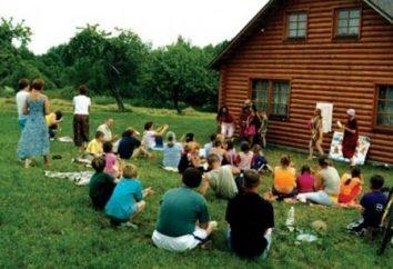 Unikalne zabawnych scen w obozie