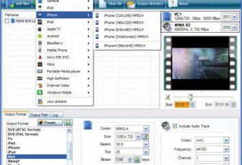 Jak przekonwertować mp4 do avi: przegląd programów