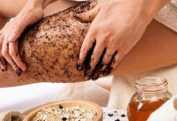 Comment gommage anti-cellulite à la maison