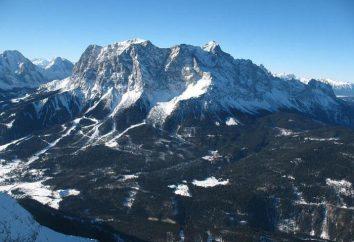 Góry w Niemczech. Najwyższa góra w Niemczech: nazwa
