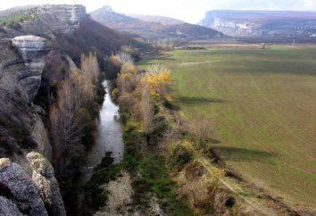 Rzeka Belbek na Krymie: opis, zdjęcia