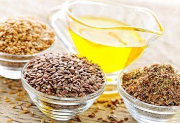 Szkody i zalety oleju lnianego dla kobiet. Olej lniany: właściwości, zastosowanie i leczenie