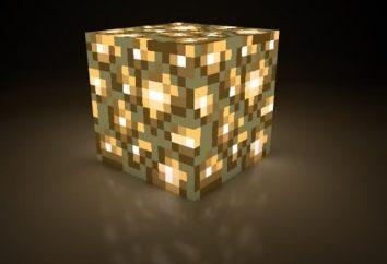 Wie eine Lampe in Minecraft zu machen, und auf welcher Grundlage es funktioniert