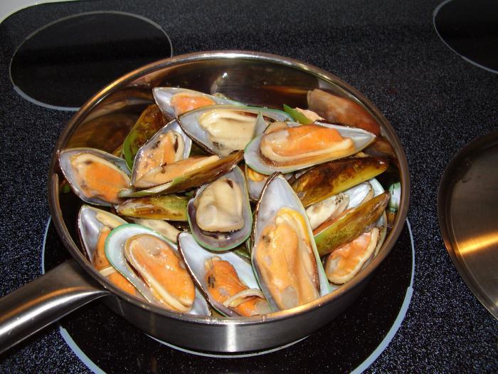 C mo cocinar mejillones congelados c mo cocinar - Como cocinar ostras ...