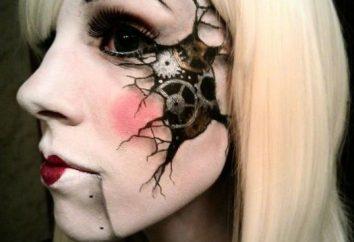 Jak dokonać cięcia na Halloween? Jak zrobić makijaż mobilny improwizowane?
