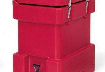 Izotermicznego pojemnika i jej jakości