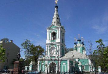 Descripción catedral Sampson. Sampson catedral en San Petersburgo