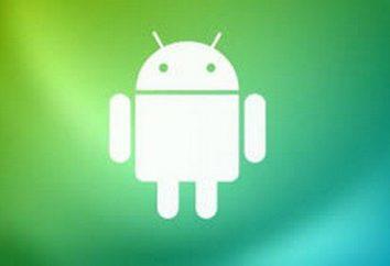 """Engenharia menu """"Android"""", setup,"""