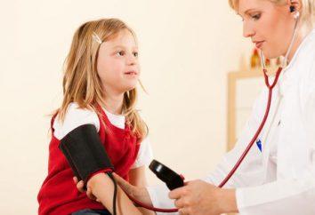 zmiany w ciśnieniu krwi u dziecka