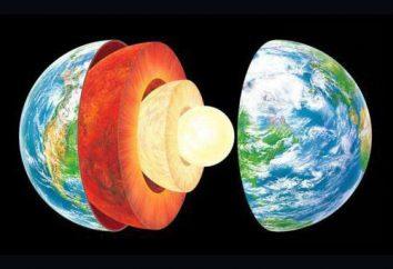 Il mantello superiore della Terra: la composizione, temperatura, fatti interessanti
