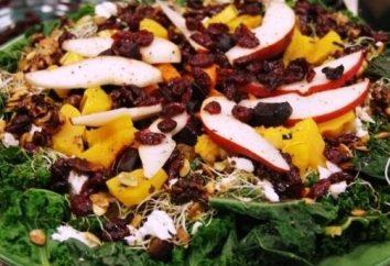 saladas deliciosas na mesa de férias – e um mínimo de esforço!