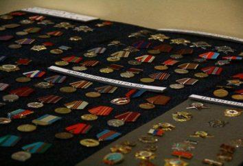 Medale międzynarodowych żołnierzy: w dzisiejszej Rosji i Związku Radzieckiego