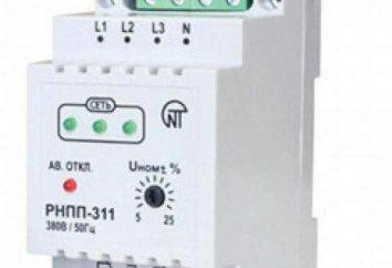 RNPP-311M: manuale d'uso, e la nomina di
