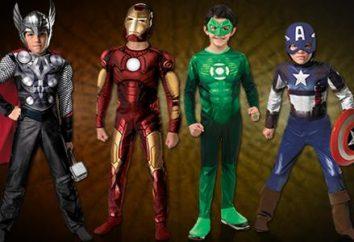 Wybierz garnitury superbohaterów dla swoich dzieci
