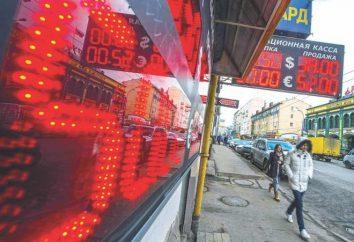 La caduta del rublo (nel 2014). La ragione per la caduta del rublo