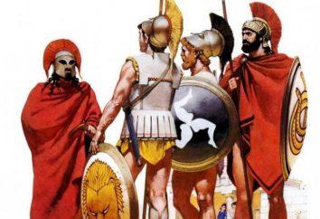 hoplites grecs: armure, photo. Qui sont les hoplites grecs?