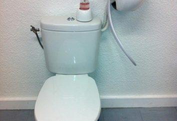 Toaleta z prysznicem higienicznym. Higieniczny prysznic zamiast bidet