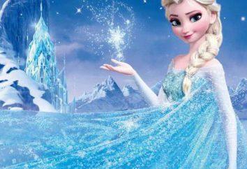 """Eine der Möglichkeiten, wie ein Kleid von Elsa von """"Cold Heart"""" nähen"""