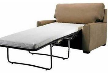 Fotel rozkładany z rękami: krok po kroku opis, schematy, rysunki
