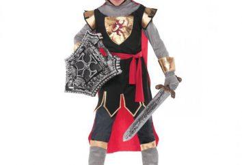 Jak uszyć strój rycerza dla chłopca z rękami?