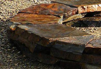 ardoise de pierre: les propriétés et champ d'application