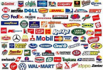 Marque propre du fabricant et du commerce de détail. Enregistrement des marques