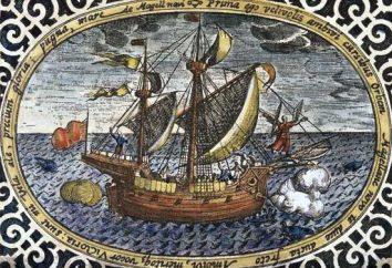Wskutek obecności wyprawy Magellana z którego został ustanowiony? Wyprawa Ferdynanda Magellana