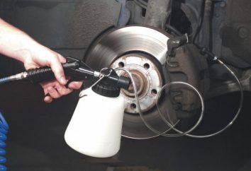 Jak pompować hamulce z ABS w samochodzie?